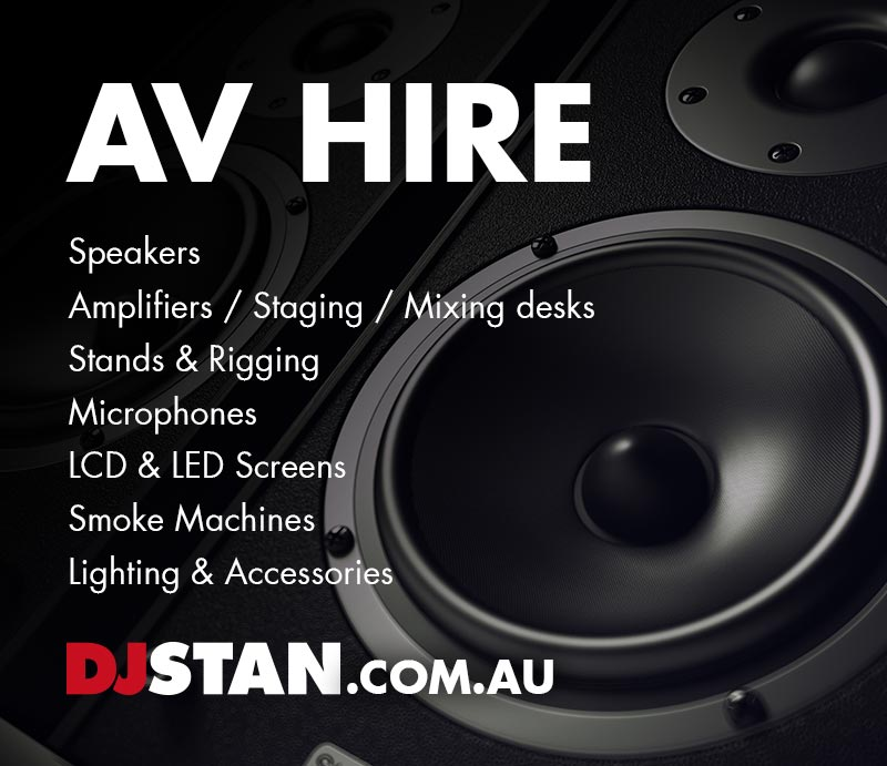 DJ Stan AV Hire & Production Sydney