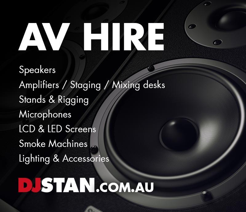 DJ Stan AV Hire & Production Sydney